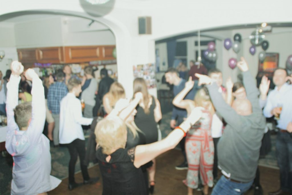 Dance floor at Hedge End birthday party venue