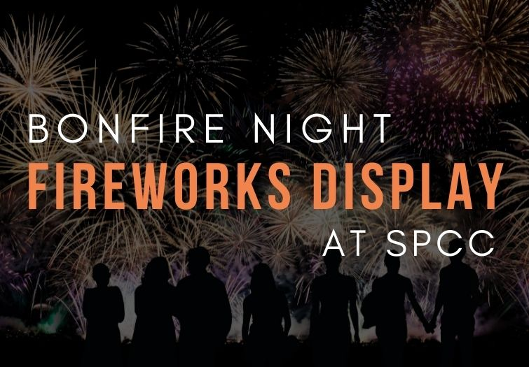 fireworks night at spcc in hedge end